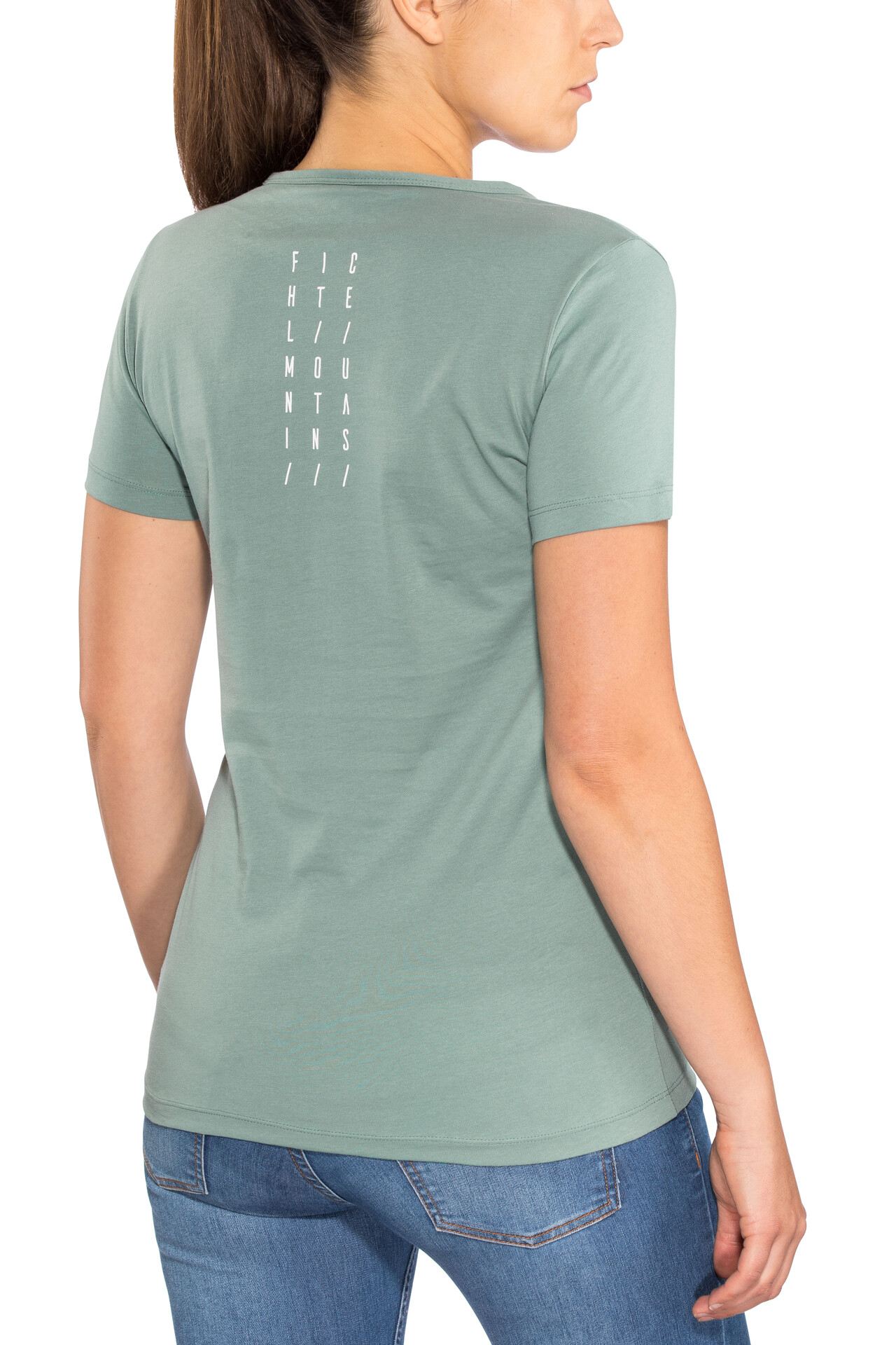 Mint T Fichtelmountains Cube FemmeDark Shirt ywv8ONnm0P